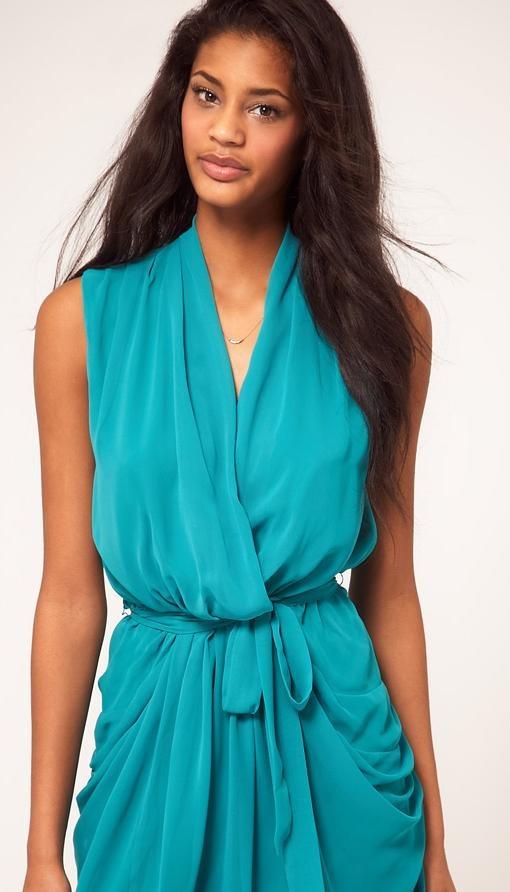 Jade Belted Wrap Dress