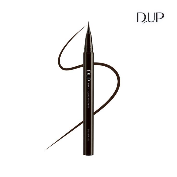 실키 리퀴드 아이라이너 브라운 블랙 D-UP Silky Liquid Eyeliner Brown Black