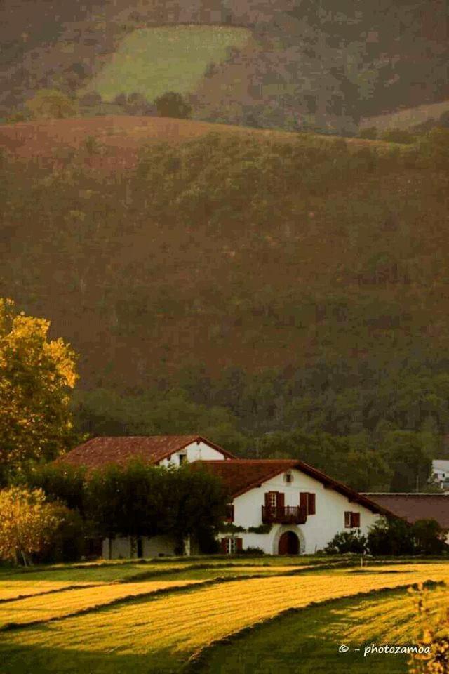 IRISARRI NAFARROA BEHEREA EUSKAL HERRIA / Irisarry Basse Navarre Pays Basque. Photo By photozamoa.