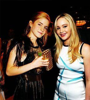 Emma Watson and Jennifer Lawrence my favourite actresses!!!!