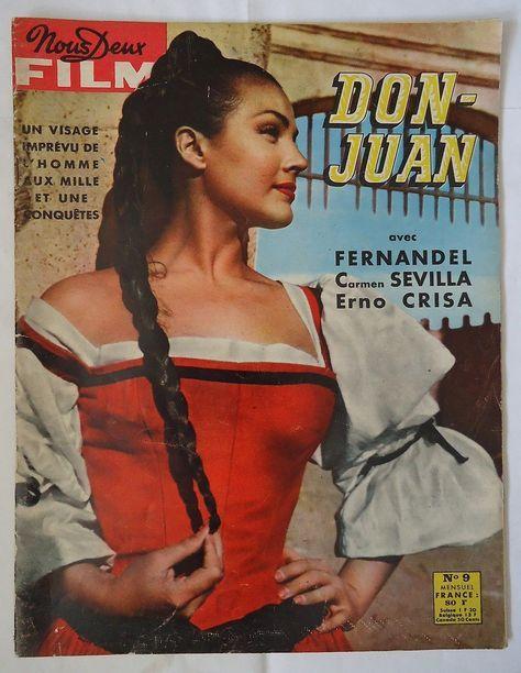 Fernandel Carmen Sevilla DON Juan Photonovel   eBay