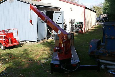 Large Scale RC Control Line Flatbed Crane Truck | eBay