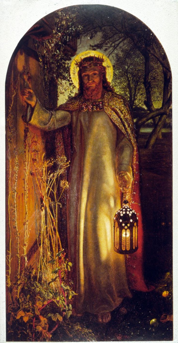 Christ Jesus is the 'Light of the World' and it is at Oxford that one of the most famous paintings bearing that name can be found. Painted by William Holman Hunt more than 150 years ago, it depicts Christ standing with a lamp knocking at a door (Revelation 3:20) - one that can only be opened from the inside.
