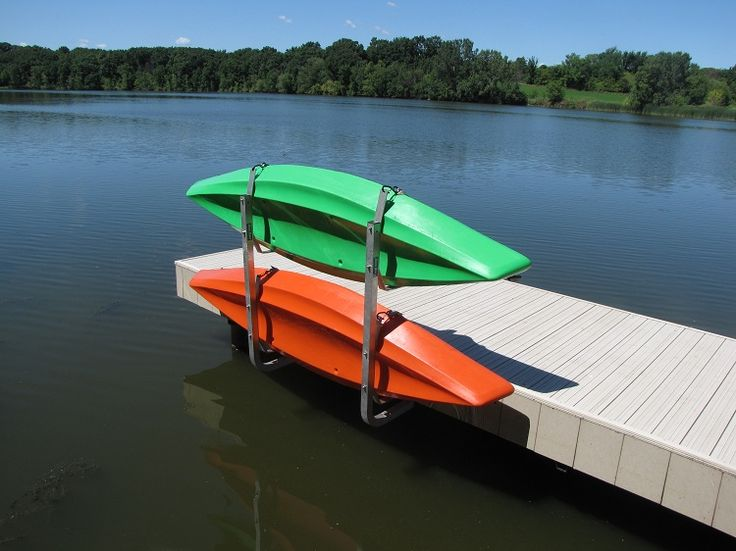 Vertical Kayak Rack | Dock SidesDock Sides