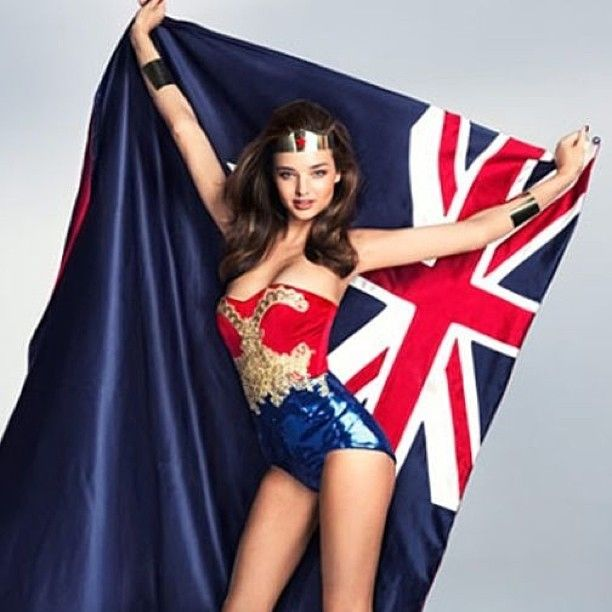 Miranda Kerr:   Happy Australia Day ❤