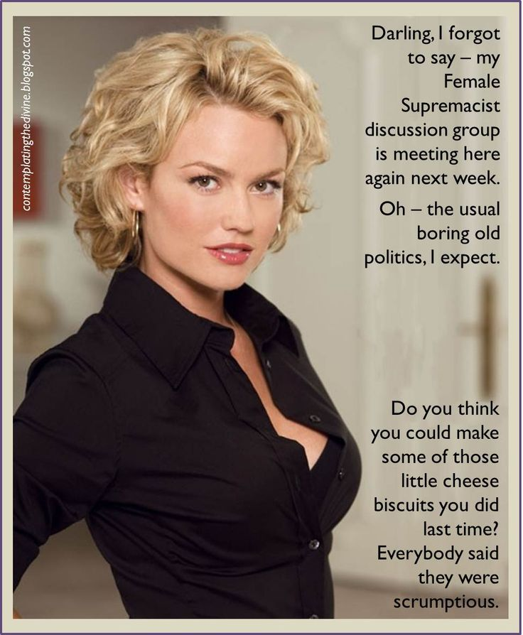 Captions Female Supremacy Political Party Contemplating