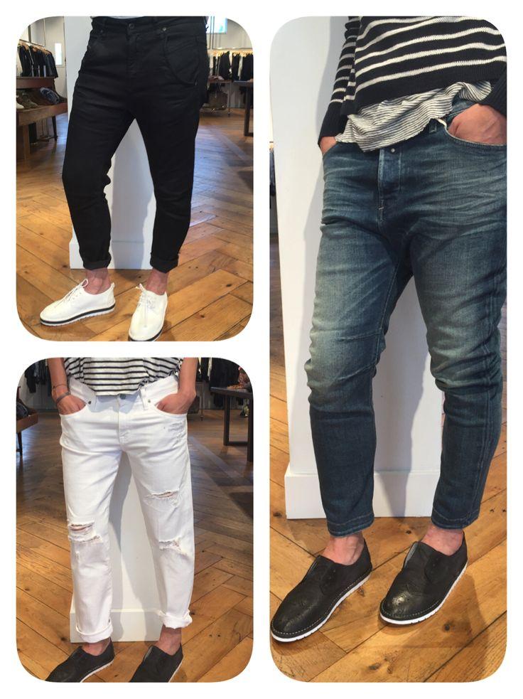Onze baggy's van Diesel en AG jeans