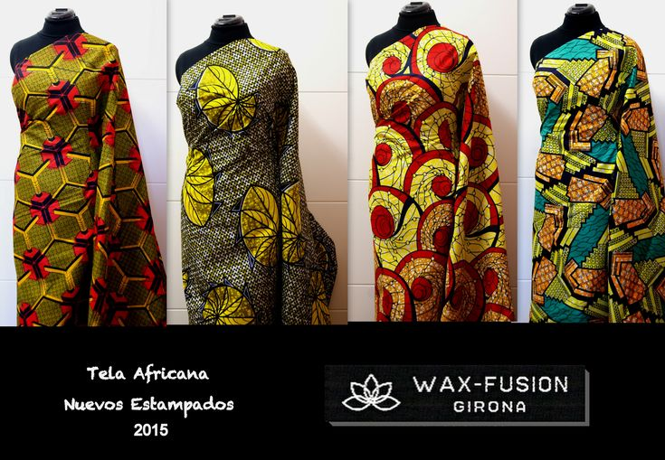 57 best images about african wax fabric wax fusion on - Telas africanas barcelona ...