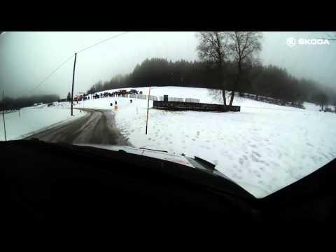 Janner Rally SS3 onboard Kopecký/Dresler