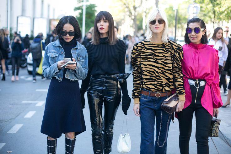 Street style, PFW, verão 2017: dia 7 - Vogue | Streetstyle