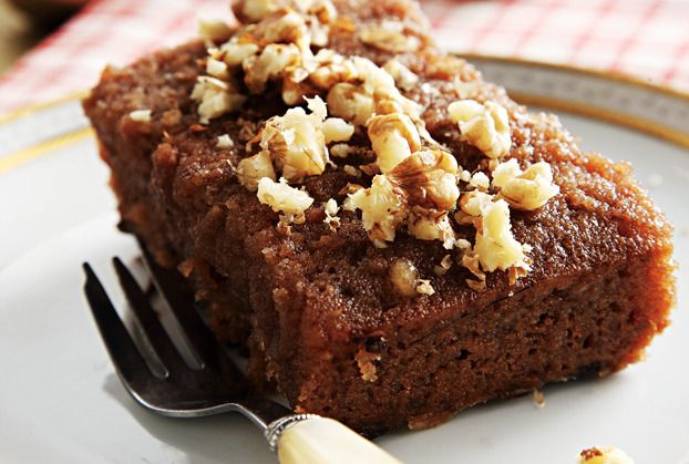 walnut dessert in syrup  Karydato-prevezis