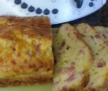 Französischer Käse-Speck Kuchen