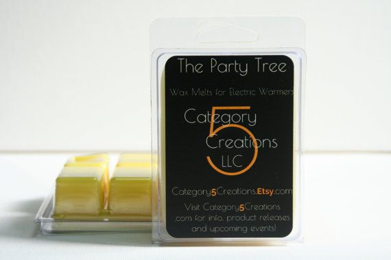 The Party Tree Wax Melts – Blended for Electric Warmers – Tarts for Book Lovers – The Lord of the Rings – Tolkien Fans – find at Category5Creations on Etsy