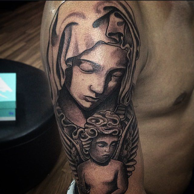 1000+ Ideas About Virgin Mary Tattoos On Pinterest