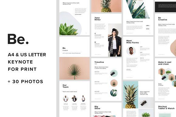 A4 Vertical Keynote +30 Free Photos by PixaSquare on @creativemarket