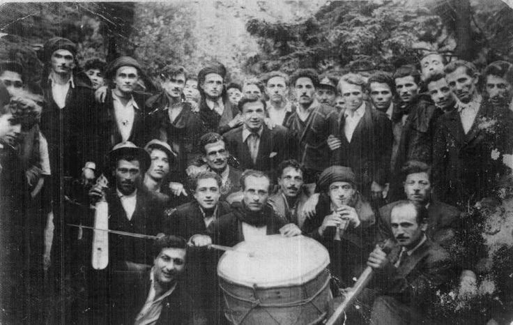 Pontian musicians, Matsouka (Macka), Pontus, c 1950's.