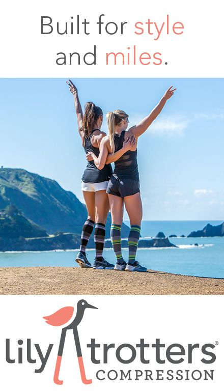 Lily Trotters Compression Socks are built for style and miles.