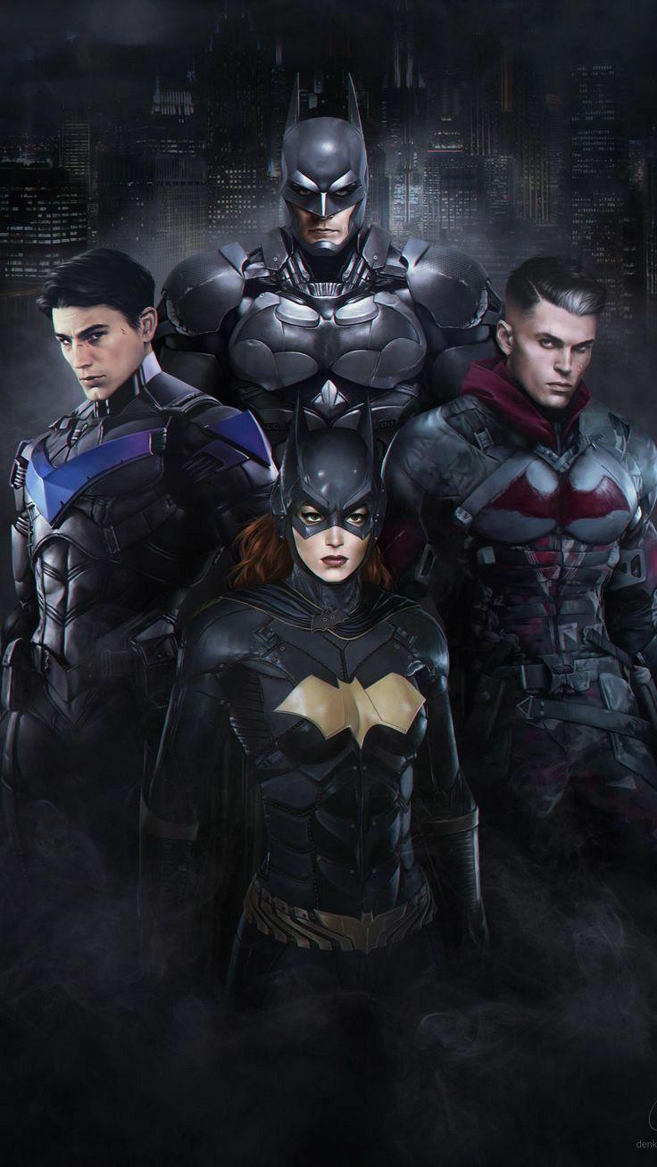 Bat Family Wallpaper : family, wallpaper, Family, Batman, Poster,, Artwork,, Comic