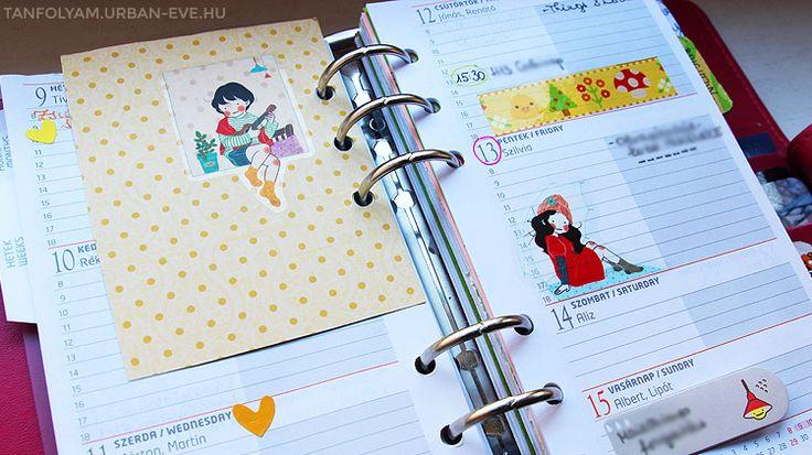Időgazdálkodni szükséges, de nem mindegy, hogy hogyan teszed.Ha szereted írásban vezetni a teendőidet, szereted az írószereket, kiváncsi vagy a leghatékonyabb időbeosztós trükkökre, és érdekel, hogyan tudod számodra esztétikussá varázsolni a naptárat, a kreatív kalendáriumozást is szeretni fogod. :) A világon egyre nagyobb divat az időgazdálkodást színesen, testre szabva vezetni egy gyűrűs naptárban, filofaxban — hiszen mennyivel másabb egy vidám, személyreszabott határidőnaplót kinyitni…