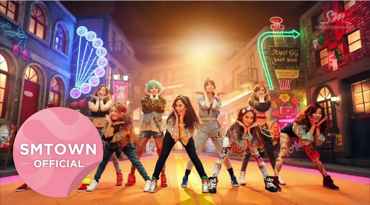 """Girls' Generation's """"I GOT A BOY"""" music video, (2012). This music video is an example of heteronormativity. It begins by showing Girls' Generation drinking tea, writing in a diary, and having pillow fights in a very pink room. Throughout the video we can see them falling for a boy's gentlemanly actions, such as giving gifts and tying their shoes. They are singing about how they got a handsome, kind, and awesome boy. - Diana L."""