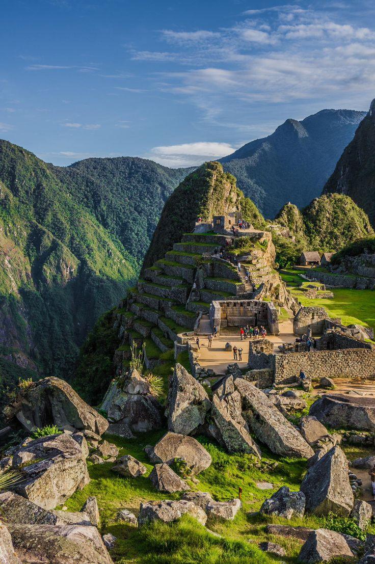 Beautiful pic of Machu Picchu, Peru. #travel #photos