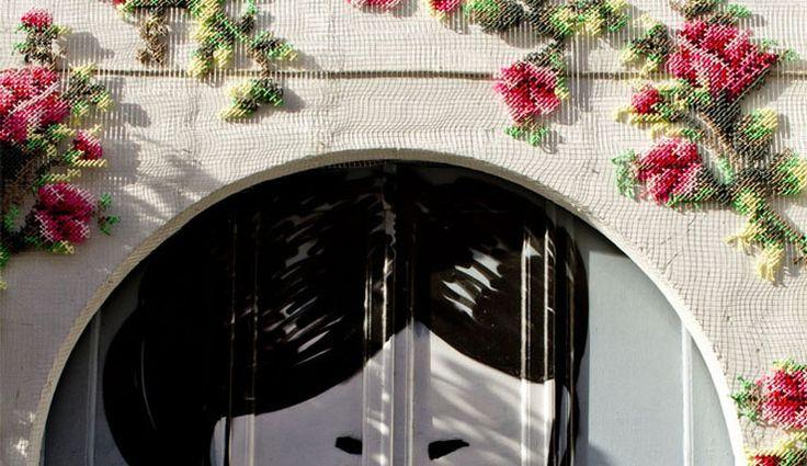 Borduurkunst geeft oude huizen een tweede leven - INTERIOR JUNKIE
