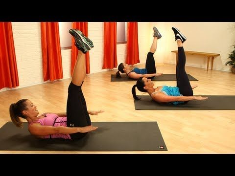 10 min/only need mat/Pilates Ab Workout, Define Your Waistline, Class FitSugar - YouTube/Juliet Kaska