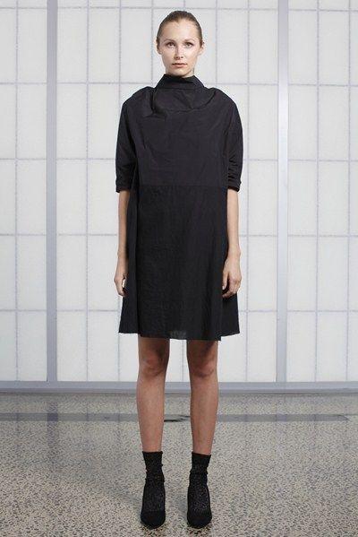 s/s 13/14 womens key looks - W14. the cut dress in nero.