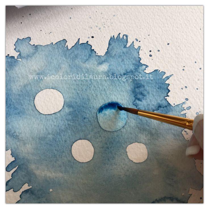Faccio una pausa dai tutorial creativie vi regalo qualche nuovo suggerimento per imparare a dipingere con gli acquerelli. E' un periodo denso di lavoro ecomeal solito di progettie per prendermi una pausa avrei voglia di un pochino di leggerezza. Sarà per questoche l'illustrazione che vi mostro mi è uscita dal pennello in un battibaleno… Comunque …