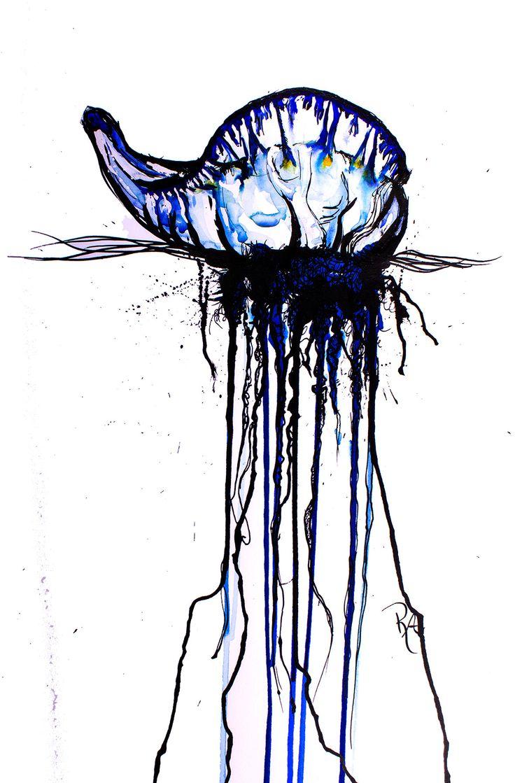 Kelly-Anne Love's Blue Bottle