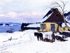 The Farm on the HIll - Clarence Gagnon - The Athenaeum