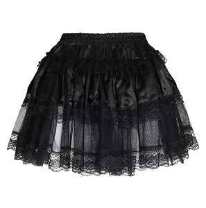 Destiny Satin with Lace Gothic Skirt