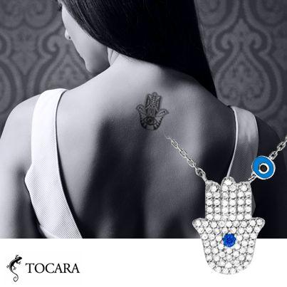 Bijoux Tocara collier Rejeanne | DiAmi - Spinelle - Argent sterling - Rhodié