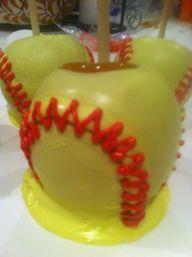 Softball Carmel apple!!!:)