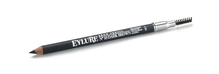 Eylure Defining and Shading Firm Pencil, Dark Brown. Brow range. This is the perfect pencil to achieve subtle, long-wearing brows in an instant with this firm-textured brow pencil from Eylure. This brow pencil can be used to subtly build up color, shape, and define your brow into well-groomed, perfected arches of envy. Finish with the handy mascara brush to seamlessly blend the look.
