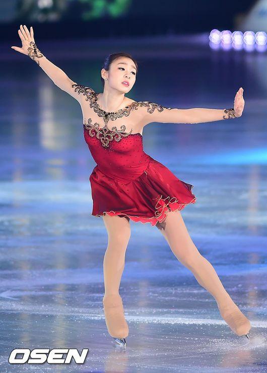 OSEN - [사진]김연아,'아름다우면서도 웅장한 투란도트'