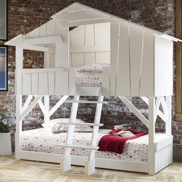 Tree House Kids Twin over Twin Bunk Bed