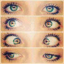 Olha meninas nova moda lentes com brilho awwn q pfta
