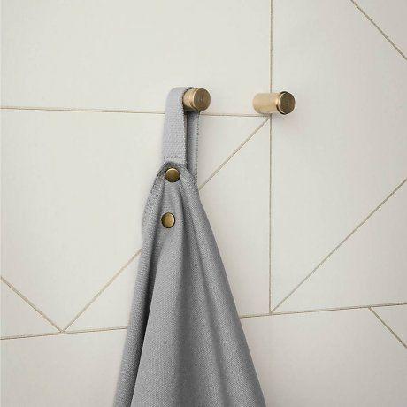 Ferm Living Behang Lines gebroken wit 10x0,53m