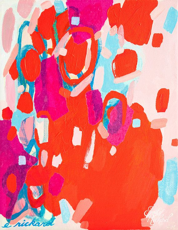 Pie for Breakfast // Original Painting by Emily Rickard via Etsy