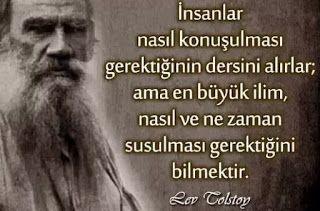 İnsanlar,Tolstoy