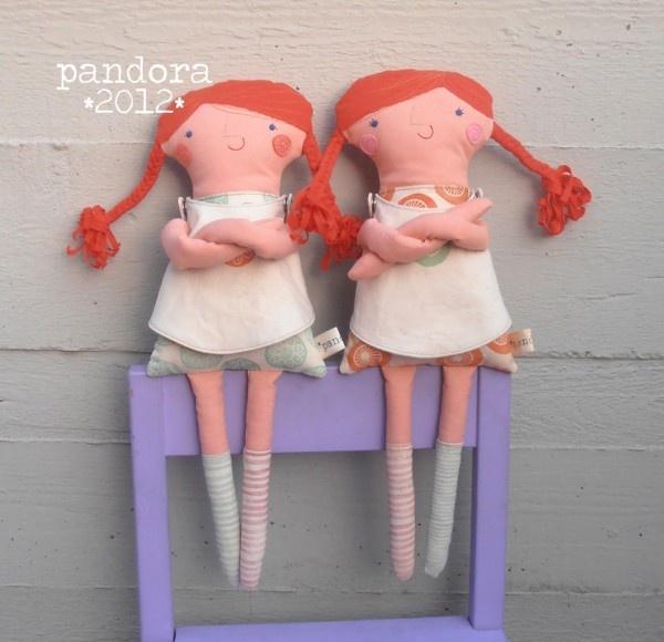 bamboline Pippi Calzelunghe #doll #pippi #longstocking