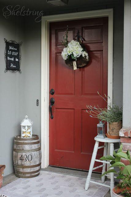shelstring blog: Summer Porch- Dose of DIY Blog Hop