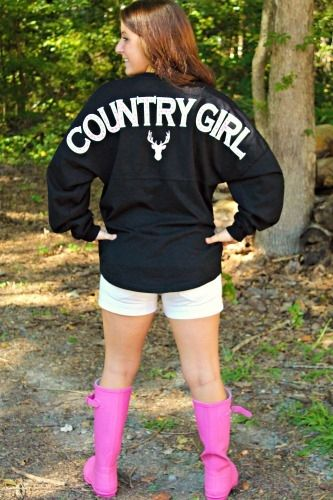 spirit jersey with Country Girl in the curve