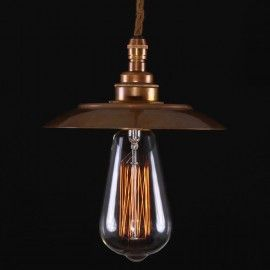 #Bugsy #Antiqued #Pendant #Light1m flex.Made in england antiqued #brass.see more of our #modern #retro #styles