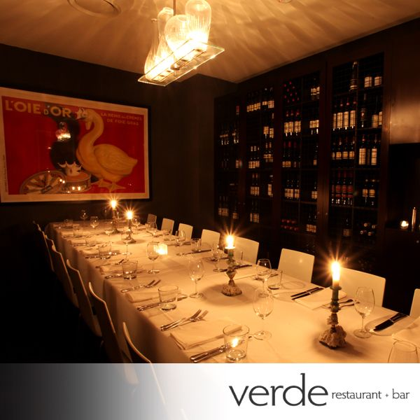 Romantic evening dining!