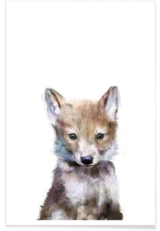 Little Wolf as Premium Poster Amy Hamilton https://www.juniqe.com/little-wolf-premium-poster-portrait-1124092.html