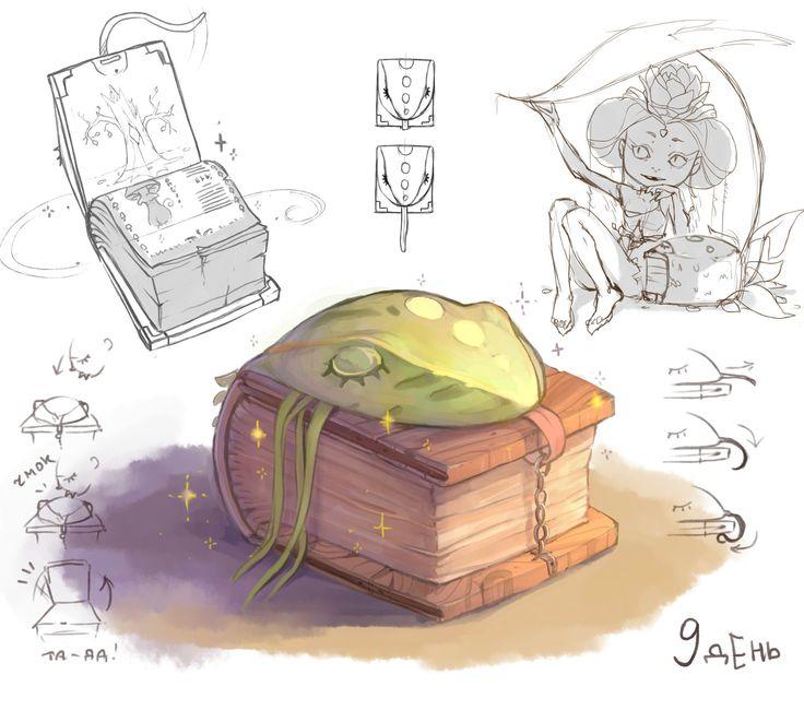 forest book, Elena Ilicheva on ArtStation at https://www.artstation.com/artwork/forest-book-20511c0f-d40d-46e7-81a3-facc8a996ad3