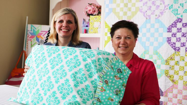 How to Make a Standard Pillowcase using Dilly Dally Pillowcase Pattern b...