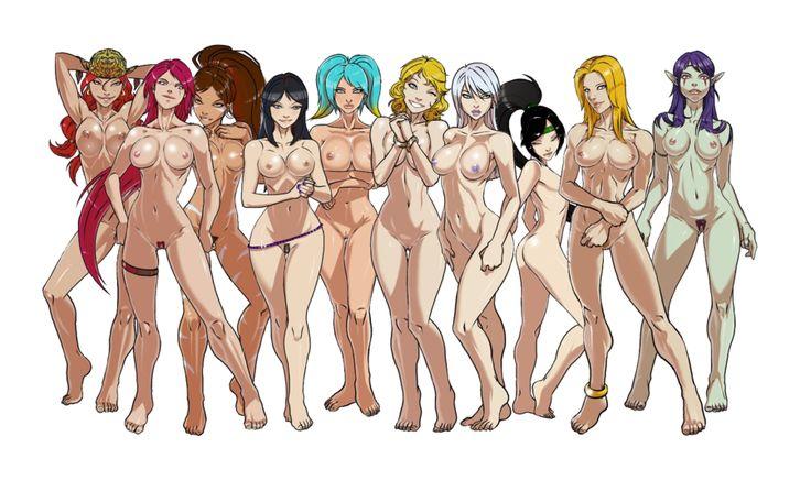 League of legends girls naked-6877